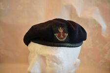 British Army Leicestershire and Derbyshire Yeomanry beret and badge 52