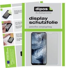 6x Nokia X6 2018 TA1099 Screen Protector Protection Anti Glare dipos