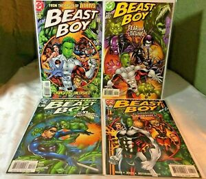 DC Comics, Beast Boy 1-4, (2000) Series, from the pages of Teen Titans