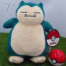 "Snorlax 7"" - Kabigon Plush Pokemon Stuffed Toy Authentic"