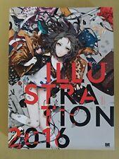 Illustration 2016 Art Book 150 Japanese Artists Japan Anime Doujin Manga USED