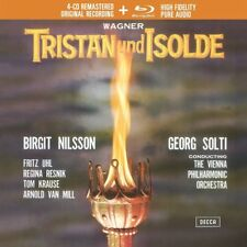 TRISTAN UND ISOLDE (LIMTED EDITION) - SOLTI/WP/NILSSON/UHL/+  3 CD+BLU-RAY NEUF