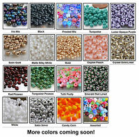 6/0 Czech Beads 10-Grams Glass Seed Beads UR PICK
