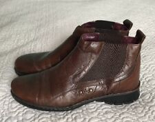 JOSEF SEIBEL BROWN ANKLE WOMEN BOOTS SIZE 39