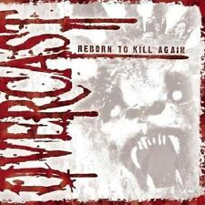 OVERCAST - Reborn To Kill Again (CD 2008) USA First Edition EXC