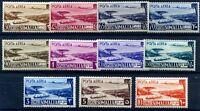 SOMALIA AFIS 1950/1 -POSTA AEREA  Serie  Nuova *