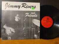JIMMY RIVERS AND FRIENDS WJP-0001 Whoopee Jazz Productions RARE Vinyl LP VG+