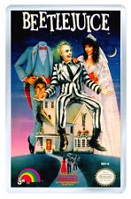 BEETLEJUICE NES FRIDGE MAGNET IMAN NEVERA