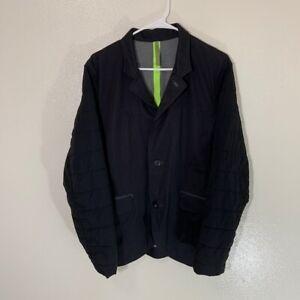 Lululemon Mens Trail Blazer Jacket Coat, Black, M
