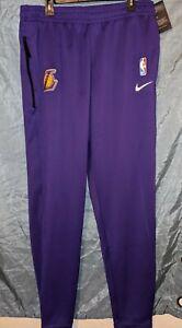 Nike Mens LA Lakers NBA Dri-Fit Spotlight Warm Up Pants SZ XXL Tall AV1449-504