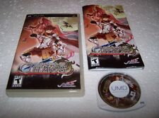 GENERATION OF CHAOS - Sony PSP - Boxed & Complete - EXC COND RPG
