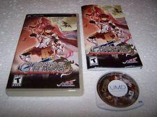 Generación de caos-Sony Psp En Caja Y Completo-EXC COND RPG