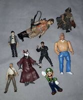 Mixed Action figure Bundle Joblot Both Vintage and Modern Collectable figures