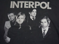 Interpol Our Love To Admire Tour T Shirt 2007 Guest Liars Size XL