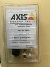 Axis Communications - Surveillance Camera Rj45 Push/Pull Connector Kit 39680 New