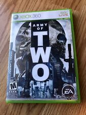 Army of Two (Microsoft Xbox 360, 2008) Cib Game H3