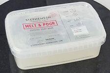 Clear Transparent 2kg Melt and Pour Soap Base - SLS Free - Soap Making