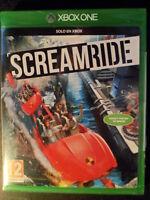 ScreamRide Nuevo Xbox One Scream Ride montaña rusa PAL España Playable english