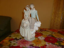 """Lladro """"Young love"""" (Norman Rockwell Limited Edition      187 of  5000)"""