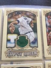 2014 Topps Gypsy Queen Relics #GQR-BR Bruce Rondon Detroit Tigers Baseball Card