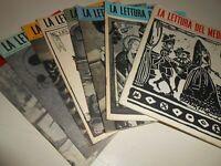 stock LIBRO: LA LETTURA DEL MEDICO-VARI NUMERI-RIVISTA LETTERARIA MENSILE BIOCHI
