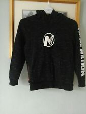 BOYS NERF BLACK FLECK HOODIE AGE 8-9 YEARS
