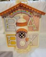 Vintage My Little Pony Lullaby Nursery House Furniture & Extras 1985