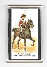 LIFE GUARDS UNIFORM 1786  FRIDGE MAGNET
