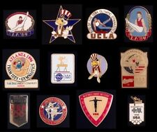 Lot/Set of 12 different Men's Gymnastics Olympic Pin Badge~Great Collection!~NOS