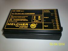 used  MELCHER AC-DC/DC-DC Converter LM 1000 Mk ll ,00094505,LM 1001-7R,0094,ED
