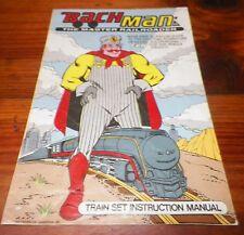 1988 Bachmann Train Set Instruction Manual Vintage Book Railway Railroad Model