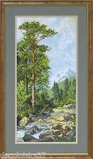 Krasa & Tvorba Kit de Broderie au Point de Croix Compté Forêt de Pins # 30510