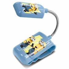 DESPICABLE ME MINIONS 3 IN 1 LED BED LIGHT LAMP CLIP FLEXIBLE KIDS