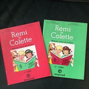 Rémi et Colette Ancien  1964  1er & 2ème Livrets  lecture CP , Excellent Etat