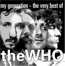 THE WHO-MY GENERATION-THE VERY BEST OF THE WHO-JAPAN CD Ltd/Ed D95