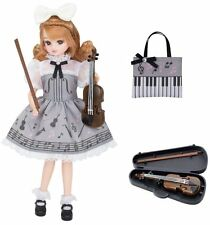 Takara Tomy Licca Violin Lesson Dress Lw-07 (Doll is not Included) Japan