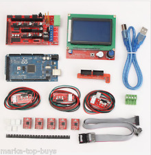 Geekcreit 3d Printer Kit For Arduino Reprap RAMPS 1.4 Mega 2560 a4988 Drive lcd12
