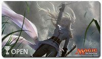 Magic the Gathering Star City Open Playmat - Thalia Guardian of Thraben SCG MTG
