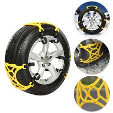 3× Car SUV Tire Anti-Skid Anti-Snow Chains +Shovel Emergency Thickening Mud Road