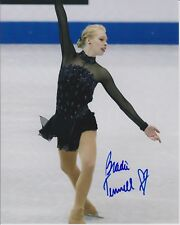 BRADIE TENNELL Signed 8x10 Photo 2018 OLYMPIC MEDALIST FIGURE SKATER