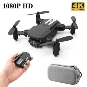New Mini Drone 4k HD Wide Angle Camera WiFi fpv Drone Quadcopter