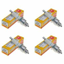 NGK BPR7HS Spark Plugs Pack of 4 fits Suzuki LT 80 2001