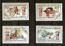 Liberia: 1992 Olympic Games Barcelona MNH