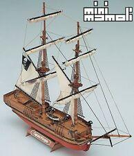 Mamoli Captain Morgan 17th Century Brig 1:135 (MM5) Scale Model Boat Kit