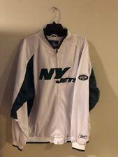 Reebok New York Jets Team Jacket Sz Xl