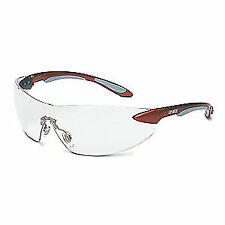 Uvex S4410 Ignite Safety Eyewear, Metallic Red and Silver Frame