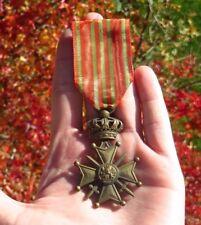 Belgium Belgian Croix de Guerre WWl Medal Award 1914-18