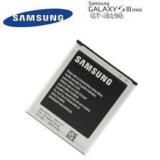 ORIGINAL SAMSUNG AKKU ACCU  für SAMSUNG GALAXY S3 MINI - 1500mAh EB-F1M7FLU