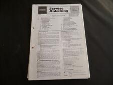 Original Service Manual Grundig Hifi  Studio RPC 200/a Rc 200 R 200