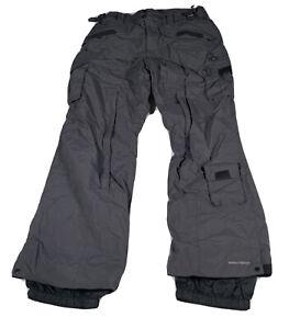 C88 Columbia Convert snow board pants,Omni-Tech, mens M black ski